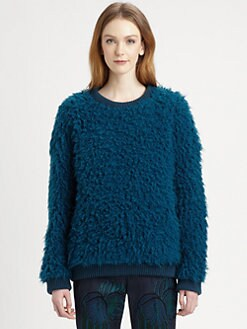 Stella McCartney - Shag-Textured Wool-Blend Sweater