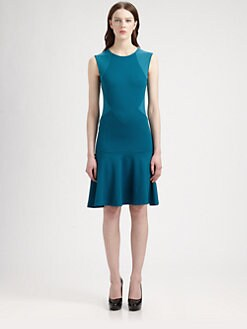 Stella McCartney - Paneled Stretch Jersey Dress