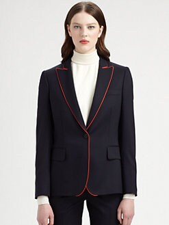 Stella McCartney - Piped Wool Blazer