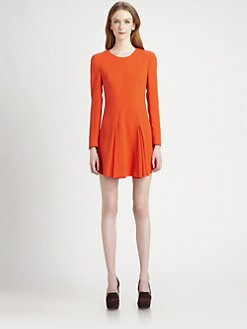 Stella McCartney - Kick-Pleat Dress