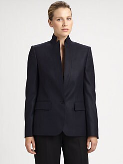 Stella McCartney - Stand-Collar Wool Jacket
