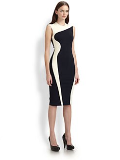 Stella McCartney - Colorblock Body-Con Dress