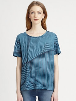 Stella McCartney - Striped Cotton Jersey Tee