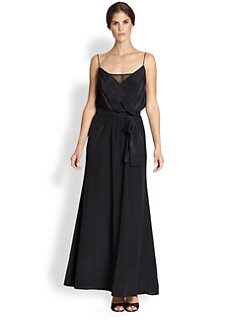 Jay Godfrey - Moyers Surplice Maxi Dress