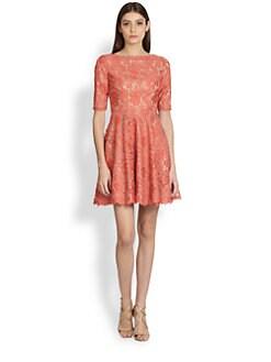 ML Monique Lhuillier - A-Line Lace Dress