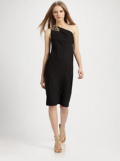 Robert Rodriguez - Kaelee Stretch Silk Dress