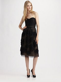Robert Rodriguez - Strapless Dress