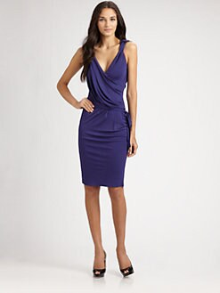 Robert Rodriguez - Draped Jersey Dress