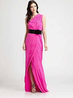 Robert Rodriguez - Silk Gown