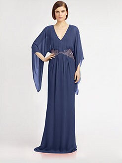 Notte by Marchesa - Silk Chiffon Gown