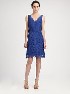 ML Monique Lhuillier - Lace Dress