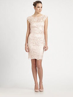 ML Monique Lhuillier - Venise Lace Dress