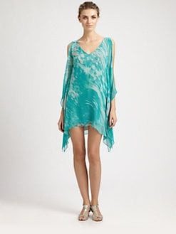 Jay Godfrey - Brin Silk Kimono Dress