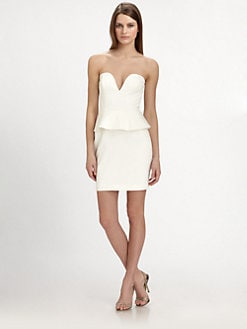 Jay Godfrey - Bustier Peplum Dress