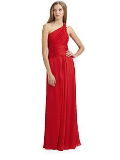 ML Monique Lhuillier - Charmeuse Gown