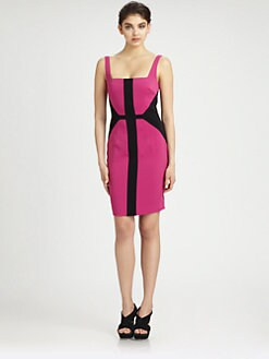 Jay Godfrey - Metropole Colorblock Dress