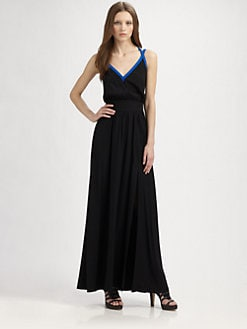 Jay Godfrey - Silk Maxi Dress