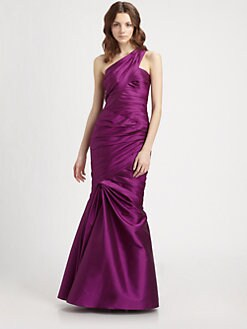 ML Monique Lhuillier - Asymmetrical Gown