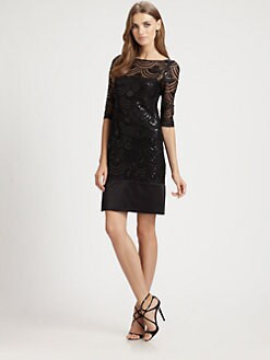 ML Monique Lhuillier - Sequined Dress