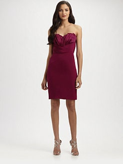 Jay Godfrey - Strapless Silk Dress