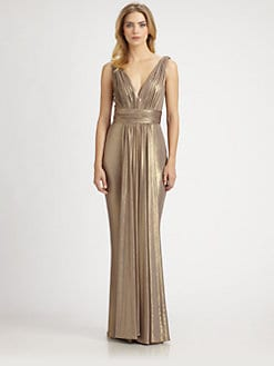 Notte by Marchesa - Metallic Gown