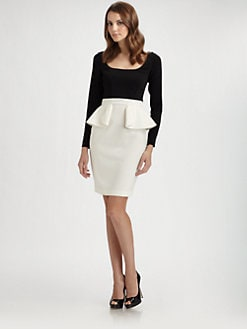 Jay Godfrey - Peplum Dress