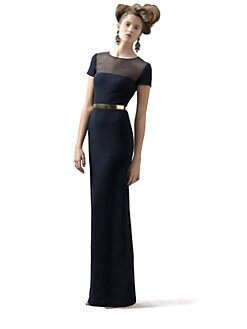 Oscar de la Renta - Belted Gown