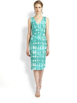 Oscar de la Renta - Crossover Criss-Cross Dress