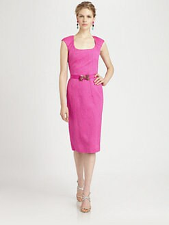 Oscar de la Renta - Seamed Dress