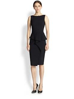 Oscar de la Renta - Drape-Detail Dress