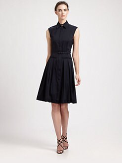 Oscar de la Renta - Drop Waist Dress