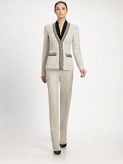 St. John - Venezia Tweed Jacket