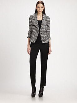St. John - Tweed Knit Blazer