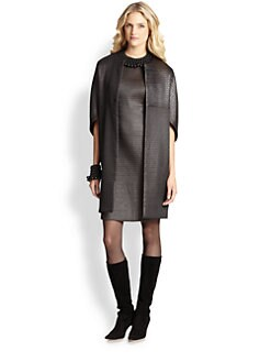 Josie Natori - Textured Coat