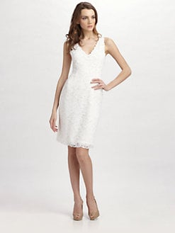 Josie Natori - Dragon Lace Dress