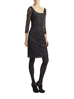 Josie Natori - Dahila Lace Dress