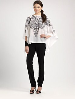 Josie Natori - Embroiderey Caftan Top