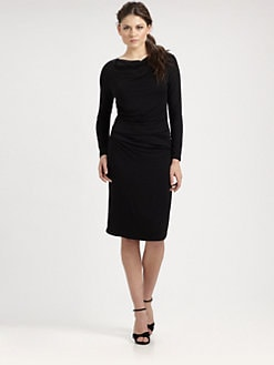 Josie Natori - Ruched Dress