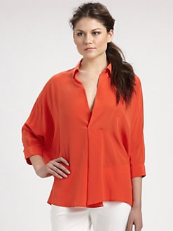 Josie Natori - Silk Tunic Top