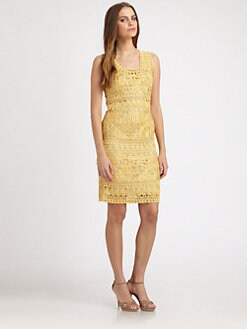 Josie Natori - Soutache Tank Dress