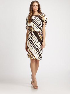 Josie Natori - Silk Hiroki Dress