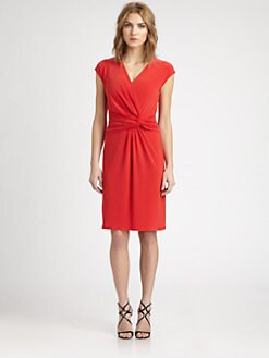 Josie Natori - Twisted Jersey Dress