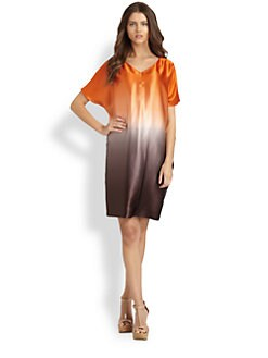 Josie Natori - Ombre Silk Dress