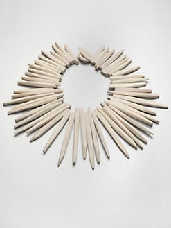Josie Natori - Oversized Horn Necklace