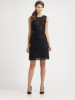 Josie Natori - Sleeveless Lace Dress