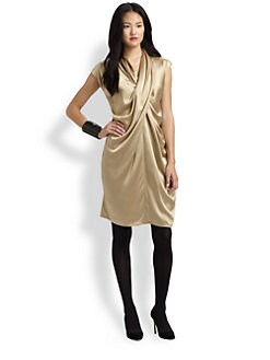 Josie Natori - Zaya Silk Dress
