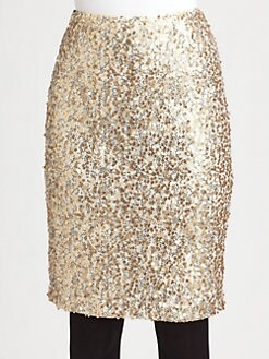 Josie Natori - Lace/Sequin Skirt