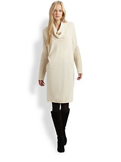Josie Natori - Silk/Cashmere Sweater Dress
