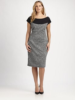Melissa Masse, Salon Z - Boatneck Ponte Dress