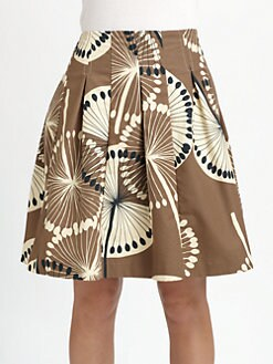 Melissa Masse, Salon Z - Canvas Printed Skirt